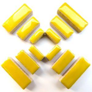 Ceramic Rectangles Citrus Yellow H71
