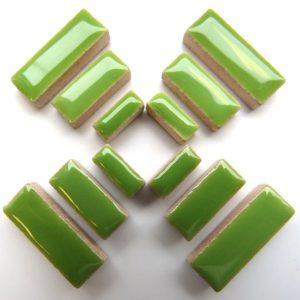 Ceramic Rectangles Kiwi H13