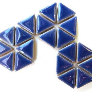 Ceramic Triangles Delphinium H191
