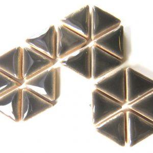 Ceramic Triangles Mid Grey H2