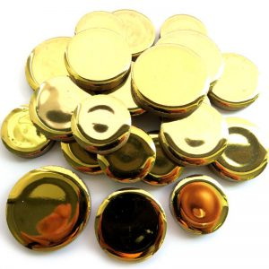 Round Discs Gold H01